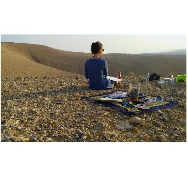 ציור במדבר